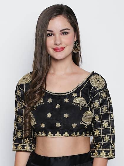 36cdd188f3afe Blouses - Shop for Designer Blouse Online in India