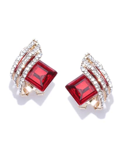 7098d3b7d Red Earrings - Buy Red Earrings Online in India
