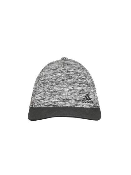 cc610cff3b7 Adidas Boys Grey Melange   Black Solid Training Snapback Cap