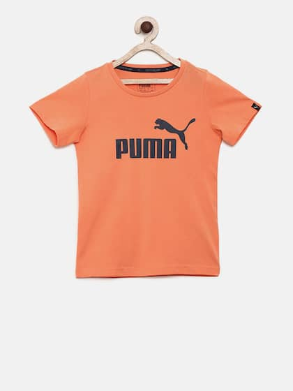 27b080047be Puma Orange Topwear - Buy Puma Orange Topwear online in India