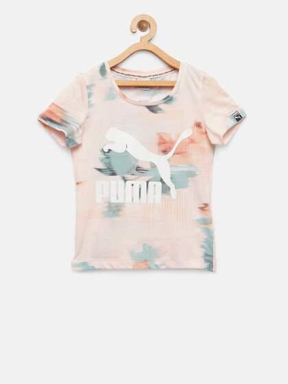 2a0ef60a25e9 Puma Tshirts Girls - Buy Puma Tshirts Girls online in India
