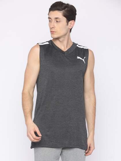 19c51051 Puma Sleeveless Tshirts - Buy Puma Sleeveless Tshirts online in India