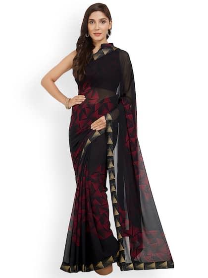 946703f479 Black Saree - Black Designer Sarees Online @ Best Price | Myntra