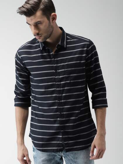 0fb0f7089caaf Shirts for Men - Buy Mens Shirt Online in India | Myntra