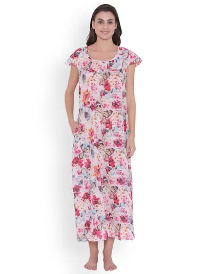 4ce45f19af Cotton Nightdresses - Buy Cotton Nightdresses Online in India
