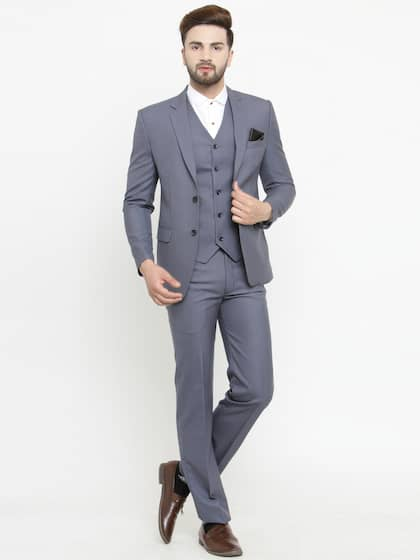 6227e43d8c Suits for Men - Buy Men Suit & Blazer Online | Myntra