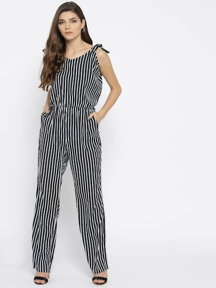 753ade44a9a Striped Jumpsuit - Buy Striped Jumpsuit online in India