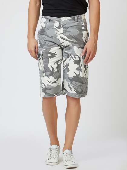 bfb9ae0506 Cargo Shorts - Buy Cargo Shorts for Men & Women online in India - Myntra