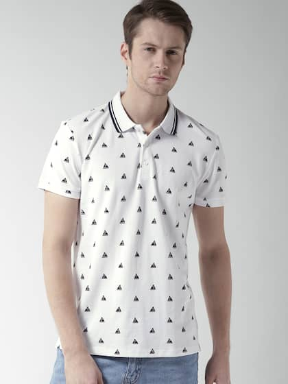 62836435c FOREVER 21. Printed Polo Collar T-shirt