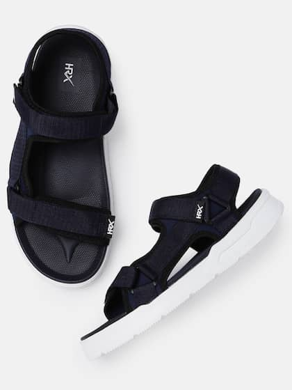 4c58090766bc HRX by Hrithik Roshan. Men Navy Blue Sports Sandals