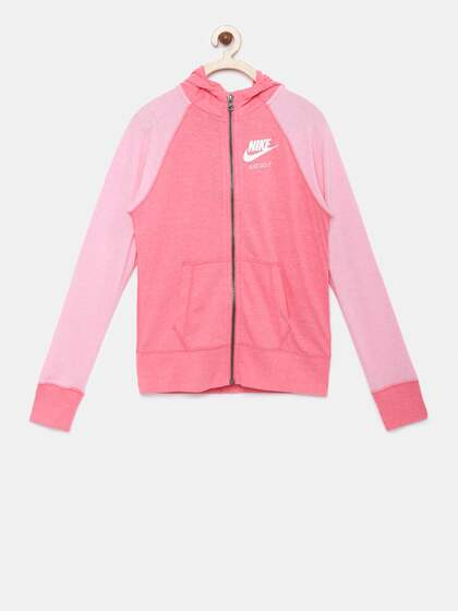 Nike. Girls Colorblocked Sweatshirt 88ab0bef332f