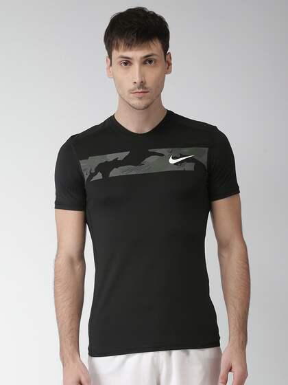 e7e6b24473cc0 Nike TShirts - Buy Nike T-shirts Online in India   Myntra