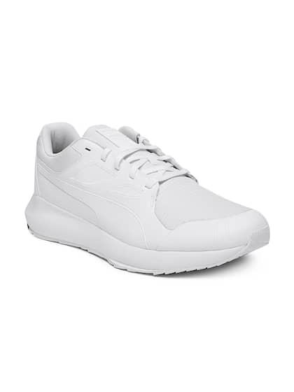 Puma Men White SF Evo Cat II Casual Shoes