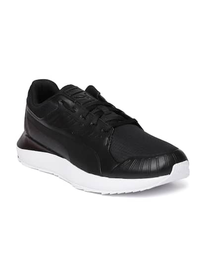 Puma Men Black SF Evo Cat II Sneakers