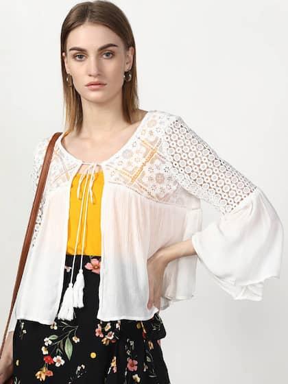 b95646c3ef White Shrug - Buy White Shrug Online in India
