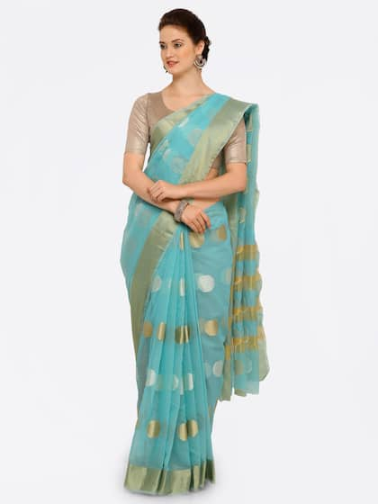 175495a4787 Chanderi Sarees - Buy Chanderi Sarees Online in India