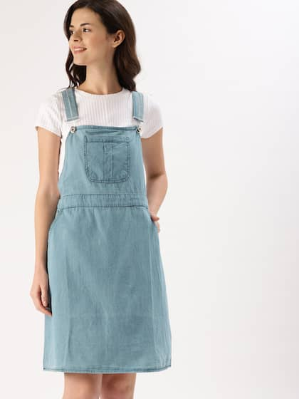 caf0e93a7 Denim Dresses - Buy Denim Dresses Online in India