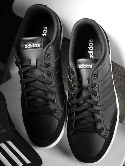 adidas superstar black and white online india