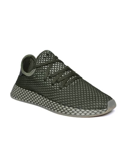56372251cdd120 Adidas Men Olive Casual Shoes - Buy Adidas Men Olive Casual Shoes ...