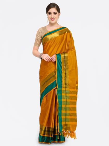 a3363286d91 Cotton Sarees - Buy Cotton Sarees Online in India | Myntra