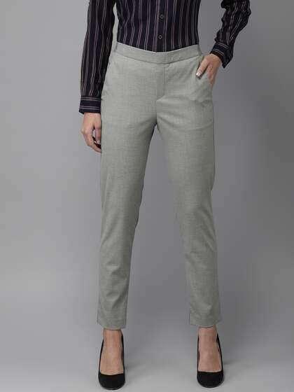 d81ead6167c80 Women Formal Trousers - Buy Women Formal Trousers online in India