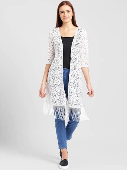 f661a3b292a50e White Shrug - Buy White Shrug Online in India