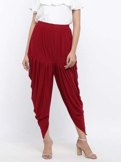 5ec2a5fd81fe Harem Pants - Buy Harem Pant Online in India | Myntra