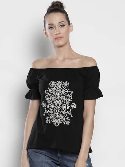 06e9c0926b330 Tops - Buy Designer Tops for Girls   Women Online