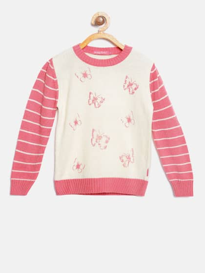 e0e76ac96e10 Girl s Sweaters - Buy Sweaters for Girls Online in India