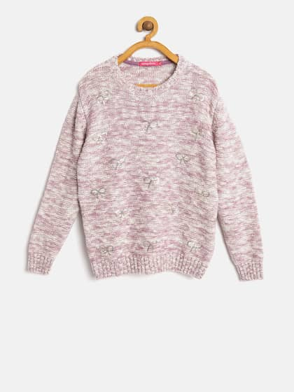 9408a13c9 Girl s Sweaters - Buy Sweaters for Girls Online in India