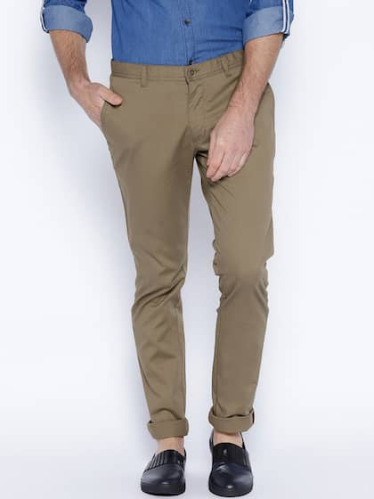 660758b927a Casual Trousers - Buy Casual Trousers Online in India
