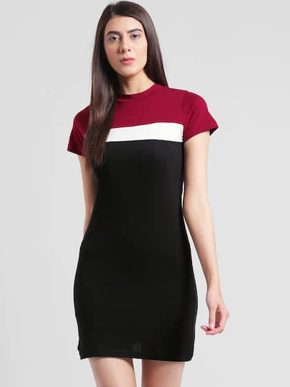 6446c7ac5de Sweater Dress - Buy Sweater Dresses Online in India | Myntra