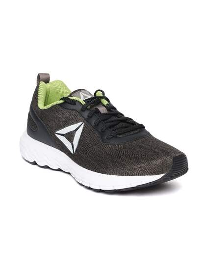 Reebok Men Black & Brown Foster LP Running Shoes