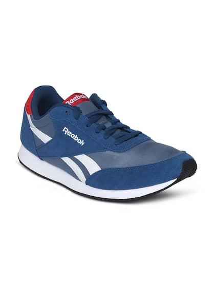 b7f0ac1c48398f Reebok Classic Blue Shoes - Buy Reebok Classic Blue Shoes online in ...