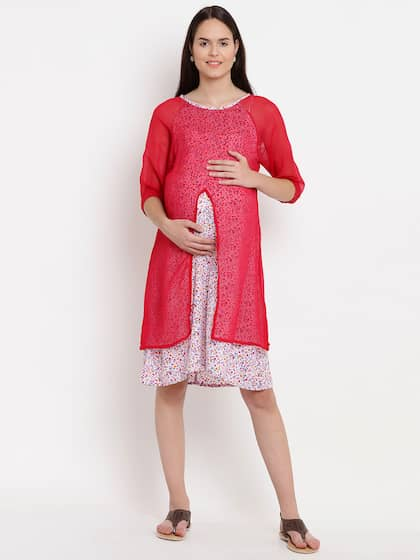 Maternity Dresses - Buy Pregnancy Dress Online in India  a6d86f3308b0