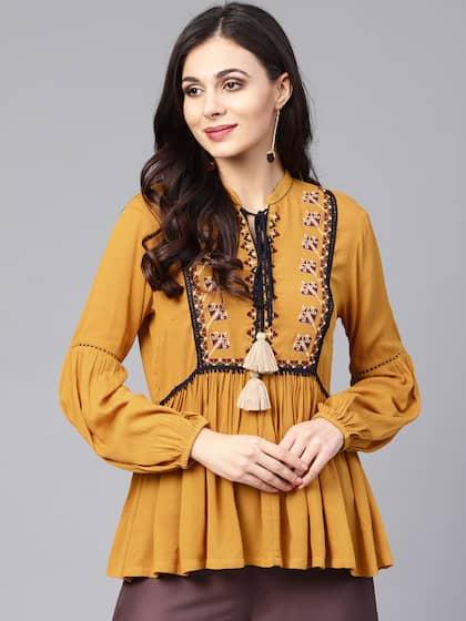c8fca26faa7 Ethnic Tops - Buy Ethnic Wear for Women Online in India