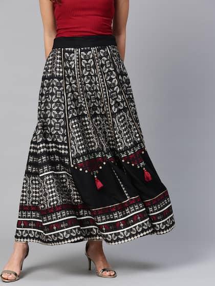 7b95abd523b1 Long Skirts - Buy Long Skirts Online in India