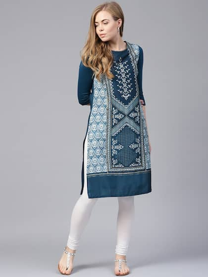Women Ethnic Wear W Kurtas Kurtis Buy Women Ethnic Wear W Kurtas