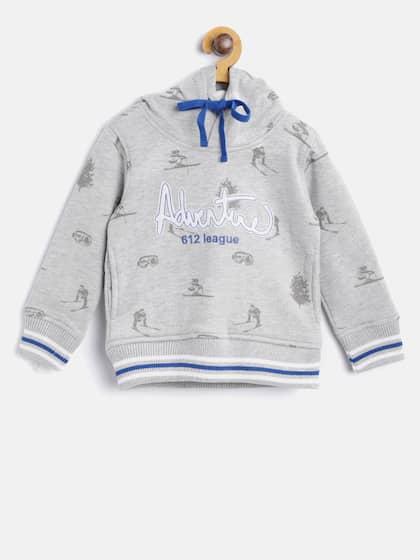 55956f1a7 Boys Sweatshirts - Buy Sweatshirts for Boys Online | Myntra
