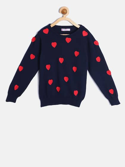 bd2c6cf5473381 Girl's Sweaters - Buy Sweaters for Girls Online in India   Myntra