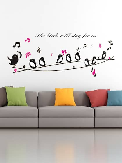 wall stickers - buy wall sticker online in india | myntra