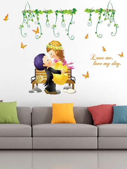 Wall Stickers For Living Room Buy Living Room Sticker Online Myntra
