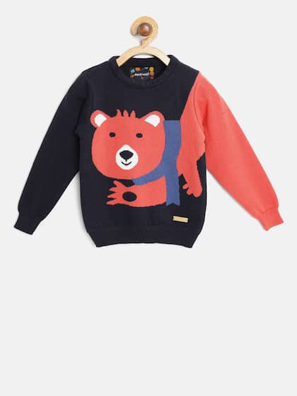 39d87a9c6ad3 Boys Sweaters- Buy Sweaters for Boys online in India