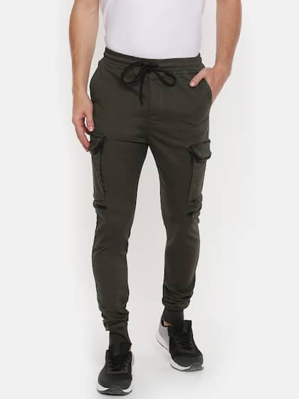 Cargo Pants For Men Buy Latest Trendy Cargo Pants Online Myntra