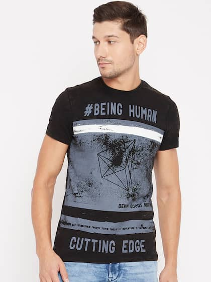 04bdb36a Buy Being Human T-Shirts Online For Men At Myntra