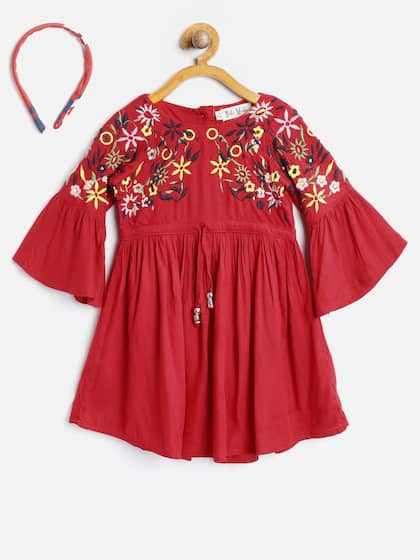 3cade5588a41 Girls Dresses - Buy Frocks   Gowns for Girls Online