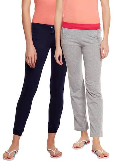 698c3f8e6c VIMAL JONNEY Women Set of 2 Solid Lounge Pants F4NVY F3MLNG