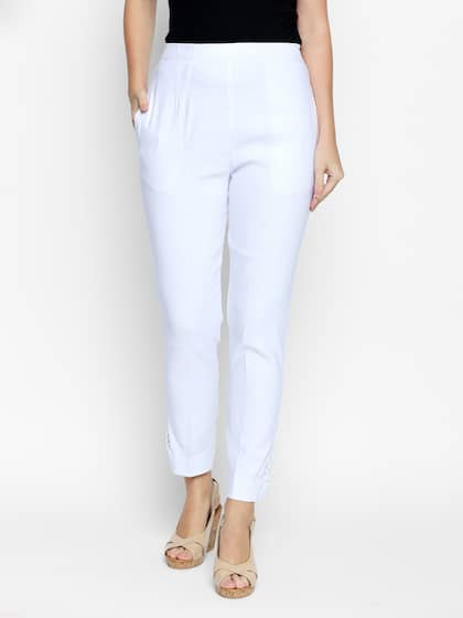 9af712a14c8 Women s Trousers - Shop Online for Ladies Pants   Trousers in India ...