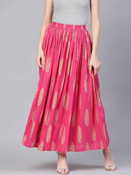 4e30e48512 Ethnic Long Skirts - Buy Ethnic Long Skirts Online