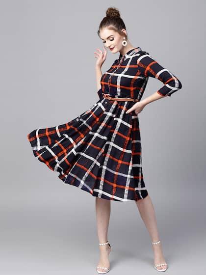 d1f966157c87 Midi Dresses - Buy Midi Dress for Women & Girl Online | Myntra